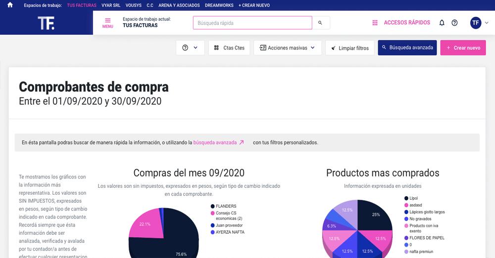TusFacturas.app: Consultá, descargá, re-imprimi y reenvía sin límite