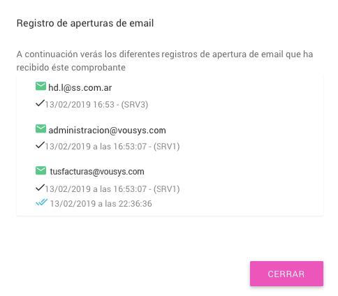 TusFacturas.app: Cuentas corrientes